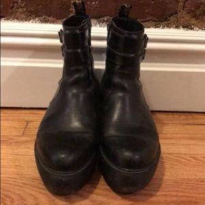 1145a16d62d Dr. Martens Shoes - Doc Marten Caitlin wedge ankle boot